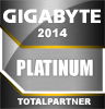 GIGABYTE Platinum partner